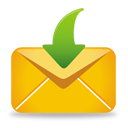 Yellow Mail Receive - icon gratuit(e) #193217