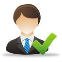 Accept Business User - Free icon #193277