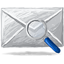 Mail Search - icon gratuit(e) #193347