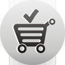 carrinho de compras aceitar - Free icon #193557