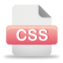 Css File - Free icon #193837