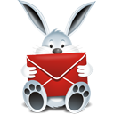Mail Bunny - icon gratuit #193867