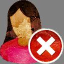 Elle a utilisateur supprimer - icon gratuit(e) #194157