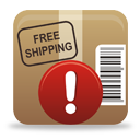 Package Warning - icon gratuit #194297