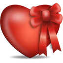Heart Present - icon gratuit #194347