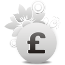 Sterling Pound Currency Sign - icon #194537 gratis