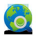 Search Globe - Free icon #194637