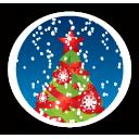 árvore de Natal feliz - Free icon #194647