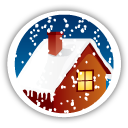 Merry Christmas Home - icon gratuit(e) #194657