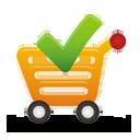carrinho de compras aceitar - Free icon #194897