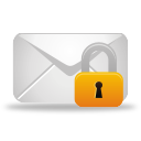 Mail Lock - icon gratuit #194937