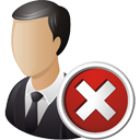 Business User Delete - icon gratuit(e) #195207