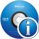 CD Info - icon gratuit #195227