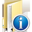 Ordner-info - Kostenloses icon #195347