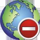 Globus entfernen - Kostenloses icon #195377