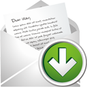 New Mail Down - icon gratuit(e) #195507