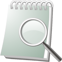 Notebook Search - Kostenloses icon #195537