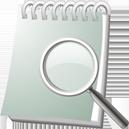 Pesquisa de caderno - Free icon #195537