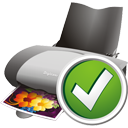 Printer Accept - icon gratuit #195587