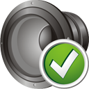 Speaker Accept - Free icon #195687