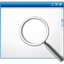 Window Search - icon #195757 gratis
