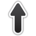 Up Arrow - Kostenloses icon #195767