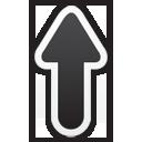 flecha hacia arriba - icon #195767 gratis