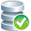 Database Accept - icon gratuit #195997