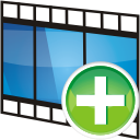 Movie Track Add - Free icon #196267