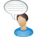 Commentaire de l'utilisateur - icon gratuit #196317