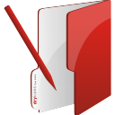 Folder Edit - icon gratuit #196707