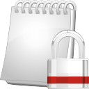 Note Lock - icon #196877 gratis