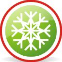 Snowflake Rounded - Free icon #197067