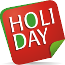 Holiday Note - Kostenloses icon #197087