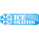 Ice Skating Button - icon gratuit #197107