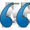 BLOCKQUOTE - icon gratuit(e) #197257
