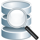 Suche in der Datenbank - Free icon #197557