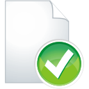 Page Accept - icon gratuit #197577