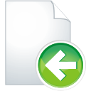 Page Previous - icon gratuit(e) #197587