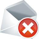 Удаление почты - бесплатный icon #197627