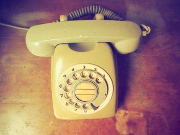 Vintage telephone - Free image #197977