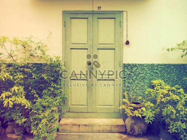 Antigua puerta de vendimias - image #198017 gratis