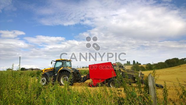 Grain agriculture machinery - Free image #198307
