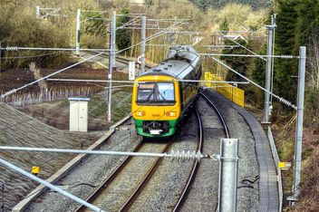 View of train on railway - Free image #198327