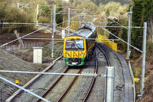 Вид поезда на железной дороге - бесплатный image #198327