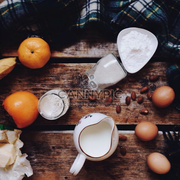 Ingredients for cooking pancakes - бесплатный image #198497