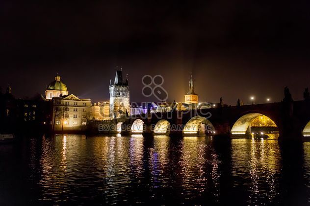 night city Czech Republic, bridge at night - Free image #198617