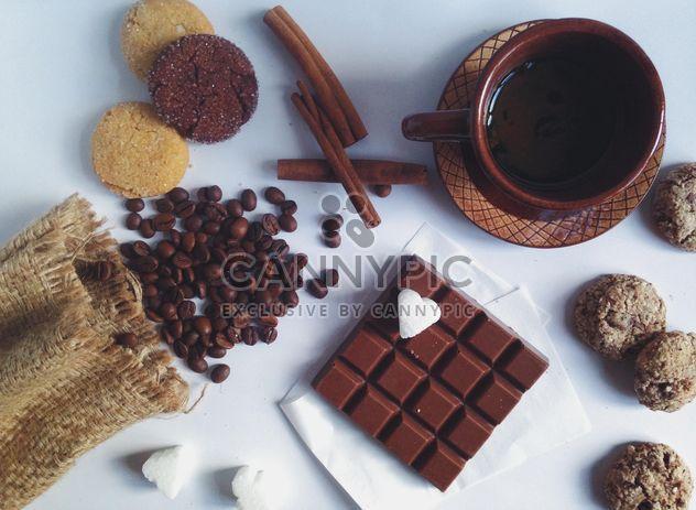 Taza de café con canela -  image #198747 gratis