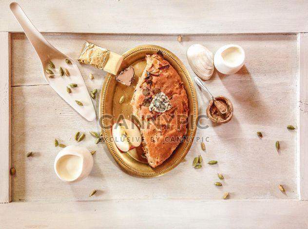 sabrosa tarta de manzana - image #198917 gratis