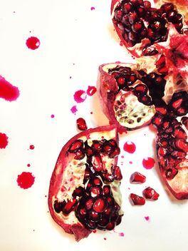 smashed Pomegranate - Free image #198977